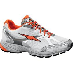 Men's Avia Avi-Lite IV White/Chrome Silver/Signal Orange