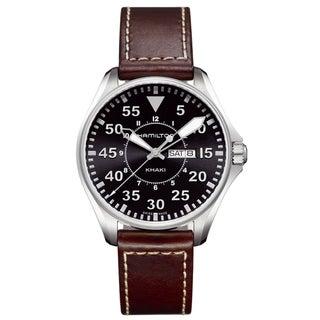 Hamilton Khaki Black Dial Pilot Watch