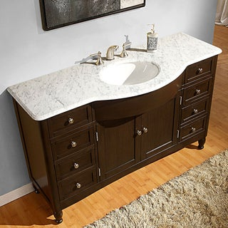 51 60 Inches Bathroom Vanities Overstock Shopping