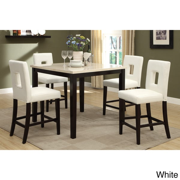Sconi Bicast Leather Counter Height Chairs Set Of 4 Overstock Shopping Great Deals On