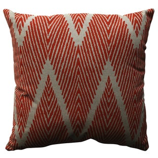 Pillow Perfect Bali Mandarin 18-inch Throw Pillow