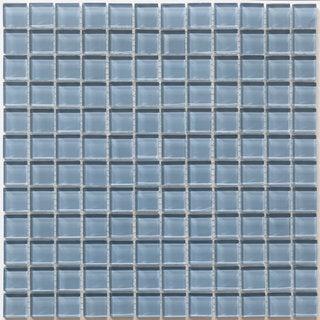 Martini Mosaic Piazza Bluestone Glass 12-inch Square Tile Sheets (Set of 10)