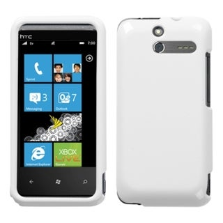 INSTEN Solid Ivory White Phone Case Cover for HTC Arrive