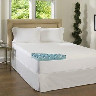 Beautyrest 2-inch Big Loft Gel Memory Foam Mattress Topper with Cover