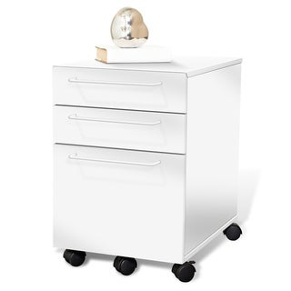 3-drawer Mobile File Cabinet Jesper Office Tribeca Pedestal