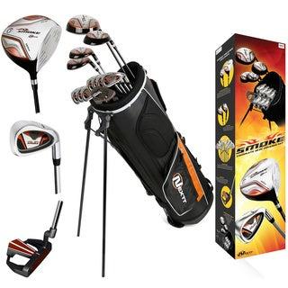 Nextt Golf Smoke Men's 18-piece Bag and Club Set