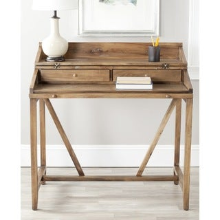 Safavieh Wyatt Oak Pull-out Writing Desk