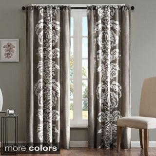 Madison Park Laina Cotton 84-inch Curtain Panel
