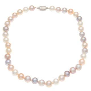 Kabella Multi-colored Freshwater Pearl Necklace (10-11 mm)