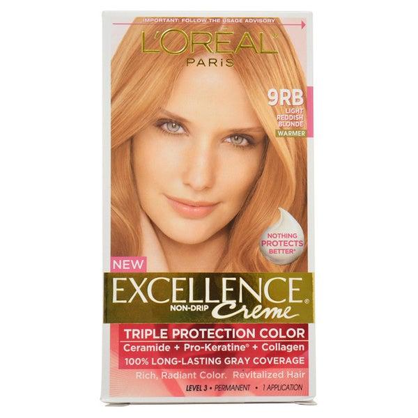 L Oreal Excellence Creme Light Reddish Blonde 9rb Warmer