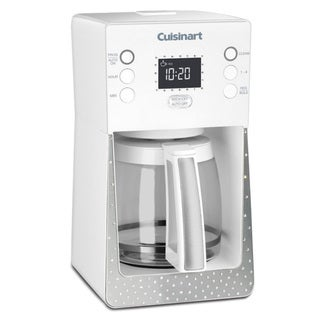 Cuisinart SCC-1000W White Crystal 14-cup Glass Programmable Coffeemaker