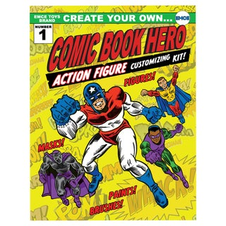 Create Your Own Superhero Action Figure Customizing Kit