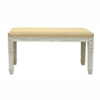nuLOOM Antique style Natural Dhurrie Kilim Bench