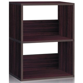Duplex 2-shelf Eco-friendly zBoard Bookcase Storage