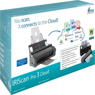 IRIS IRIScan Pro 3 Cloud Sheetfed Scanner - 600 dpi Optical
