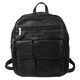 Journee Collection Women's Leather Convertible Backpack
