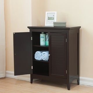 Bayfield Dark Espresso Double-door Floor Cabinet
