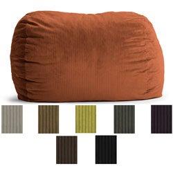 FufSack Wide Wale Corduroy 6-foot XL Bean Bag Chair