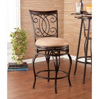 Upton Home Robleda Swivel Counter Stool