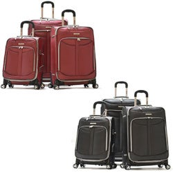 Olympia 'Tuscany' 3-piece Spinner Luggage Set