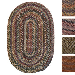 'Forester' Multicolored Braided Wool Rug (3' x 5')
