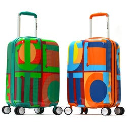 Olympia 'Olympiad' Art Series 21-inch Carry-on Hardcase Luggage