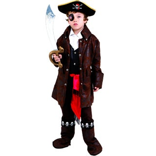 Boys Caribbean Pirate Costume