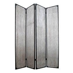 Industrial 4-Panel Metal Screen (China)