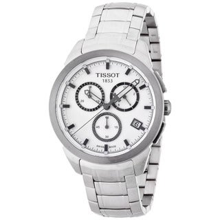 Tissot Men's T0694174403100 Titanium Chronograph Watch