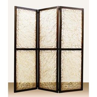 Kawaii 3-Panel Wooden Screen (China)
