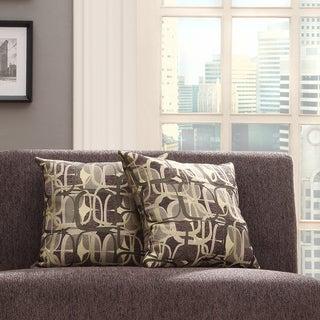 INSPIRE Q Clybourn 18-inch Toss Mod Geometric Accent Pillow (Set of 2)