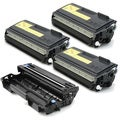 Brother Compatible TN570, 1 DR510 Drum Unit (Pack of 4)