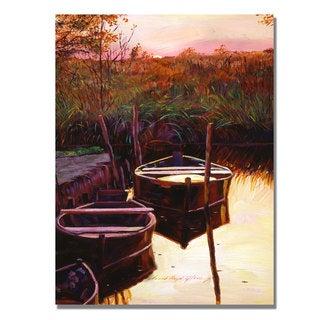 David Lloyd Glover 'Moment at Sunrise' Canvas Art