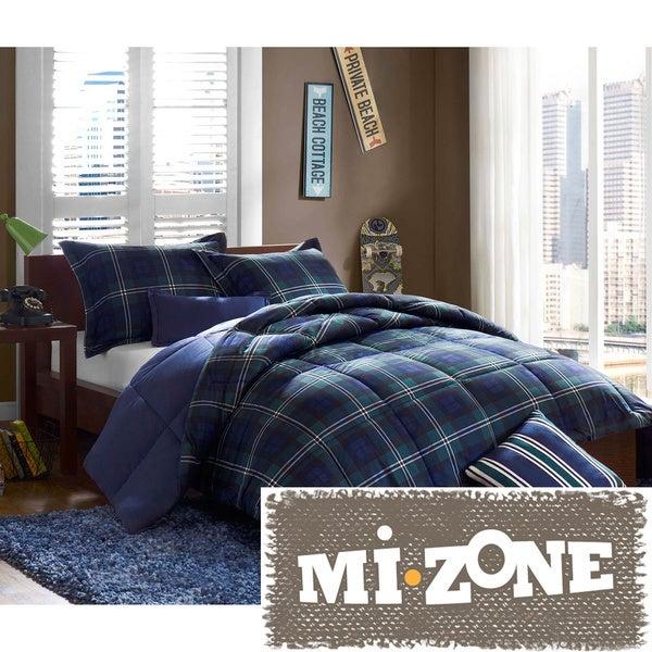 Mi Zone Daniel Printed Softspun 5-piece Comforter Set