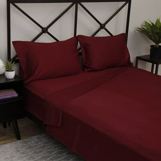 Bed Tite Deep Pocket Stretch Fit Sheet Set