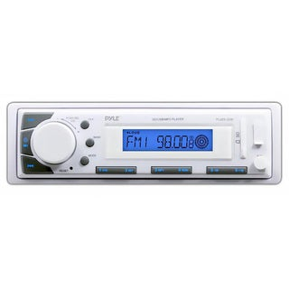 Pyle Marine In-Dash Receiver with AM/FM Radio, AUX Input for iPod/MP3 Players & SD/USB Memory Readers