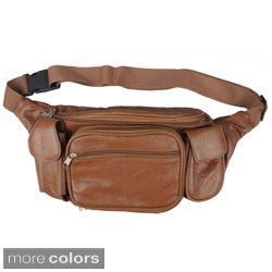 Journee Collection Women's Soft Leather Fanny Pack