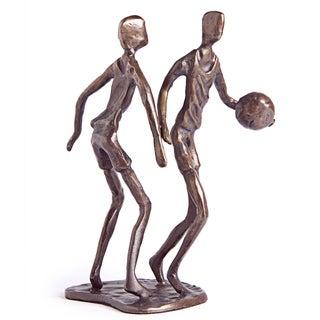 Basketball Players Bronze Sculpture
