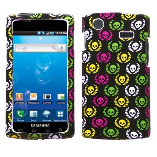 INSTEN Cute Skulls Protector Phone Case Cover for Samsung Captivate I897