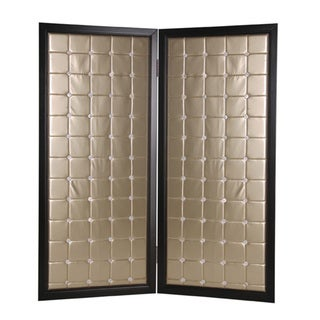 Beau Monda 2-Panel Wooden Screen (China)