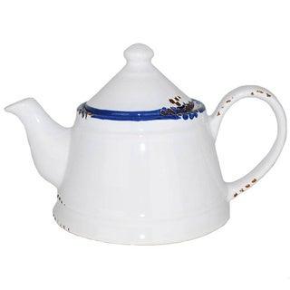 Hand Painted Enamel Vintage Style Teapot