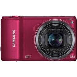Samsung WB250F 14.2MP Red Digital Camera