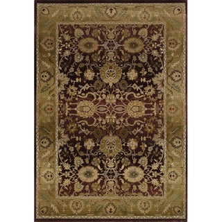 Generations Red/ Gold Rug (2'3 X 4'5)