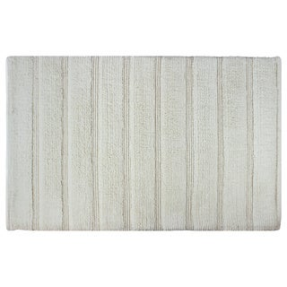 Sherry Kline Cotton Stripe 21 x 32 Bath Rug