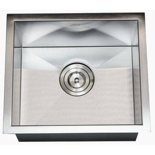 17-inch Undermount Stainless Steel Zero Radius Kitchen Bar Island Sink