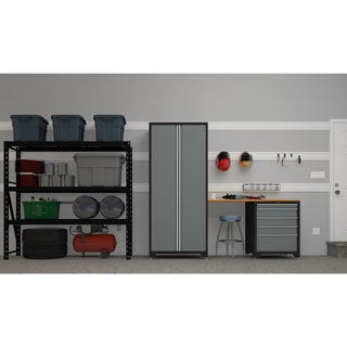 NewAge Products Pro Series Grey Ultimate Garage Kit