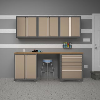 NewAge Products Pro Series 6-piece Cabinetry Set