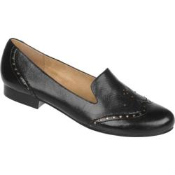 Women's Naturalizer Lerato Black Giglio Leather/Giglio PU