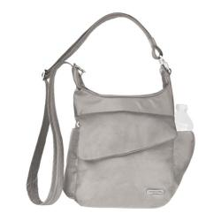 Travelon Anti-Theft Classic Messenger Bag Stone