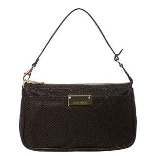 Jimmy Choo 'Rella' Black Fabric Mini Bag